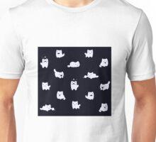 kitty print inverted Unisex T-Shirt