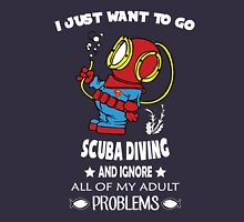 Superman Scuba Diving Unisex T-Shirt