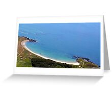Silver Bay Beach Anglesey Greeting Card