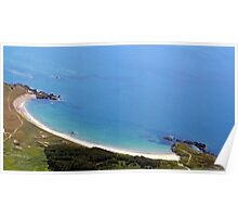 Silver Bay Beach Anglesey Poster