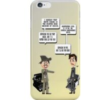 Comminucation Device Wars iPhone Case/Skin