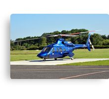 Bell 430 at Manchester UK Canvas Print