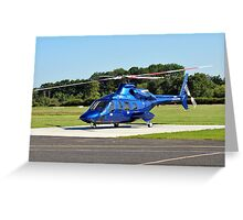 Bell 430 at Manchester UK Greeting Card