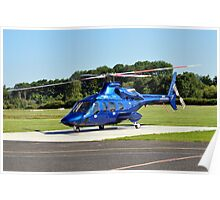 Bell 430 at Manchester UK Poster