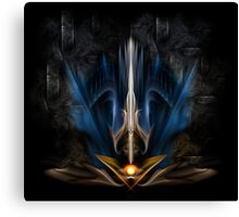 Sword Of Light Canvas Print