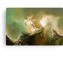 Torment. Job 19:2. Christian Modern Art Canvas Print