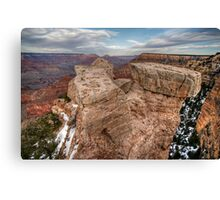Grand Canyon Rock Formation Canvas Print