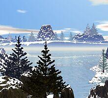 Peaceful Winter by Jaclyn Hughes