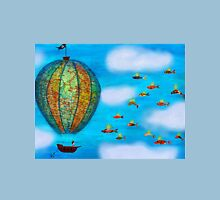 Pirate Hot Air Balloon with Flying Fish Classic T-Shirt