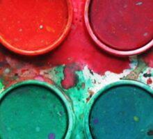 Paintbox Color Palette Sticker