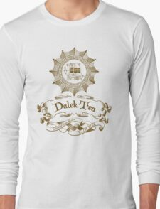 Dalek Tea Long Sleeve T-Shirt