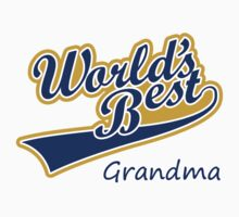 World's Best Grandma by FC Designs