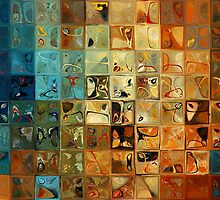 Modern Tile Art #11, 2009 by Mark Lawrence
