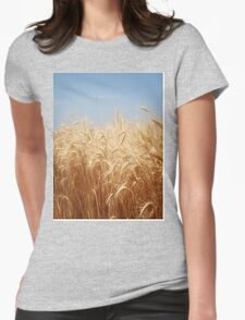 Harvest...reap what you sew. Womens Fitted T-Shirt