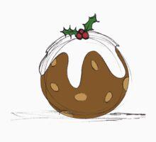 Christmas Pudding Kids Tee