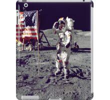 Cernan  Salutes Flag iPad Case iPad Case/Skin