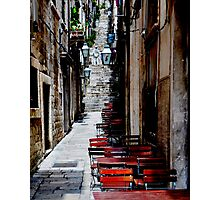 Dubrovnik Alley Photographic Print