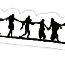 The Dance of Death Sticker