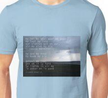 He leadeth me / Hy lei my Unisex T-Shirt