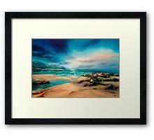 """""""Turning Tide"""" Framed Print"""