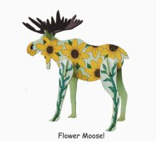 Flower Moose by JagiShahani