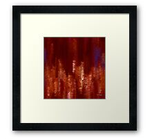 Acquainted With Grief. Isaiah 53:3 Framed Print