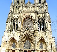Reims cathedrale, Reims by willm100