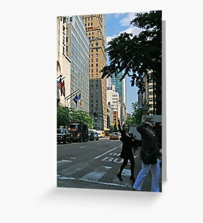 Taxi Cab Needed Greeting Card
