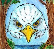 Eagle Mask by DrawingSaudade