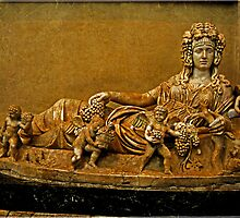 Personification of Autumn, Sarcophagus by LaRoach