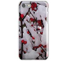 Snowberries iPhone Case/Skin