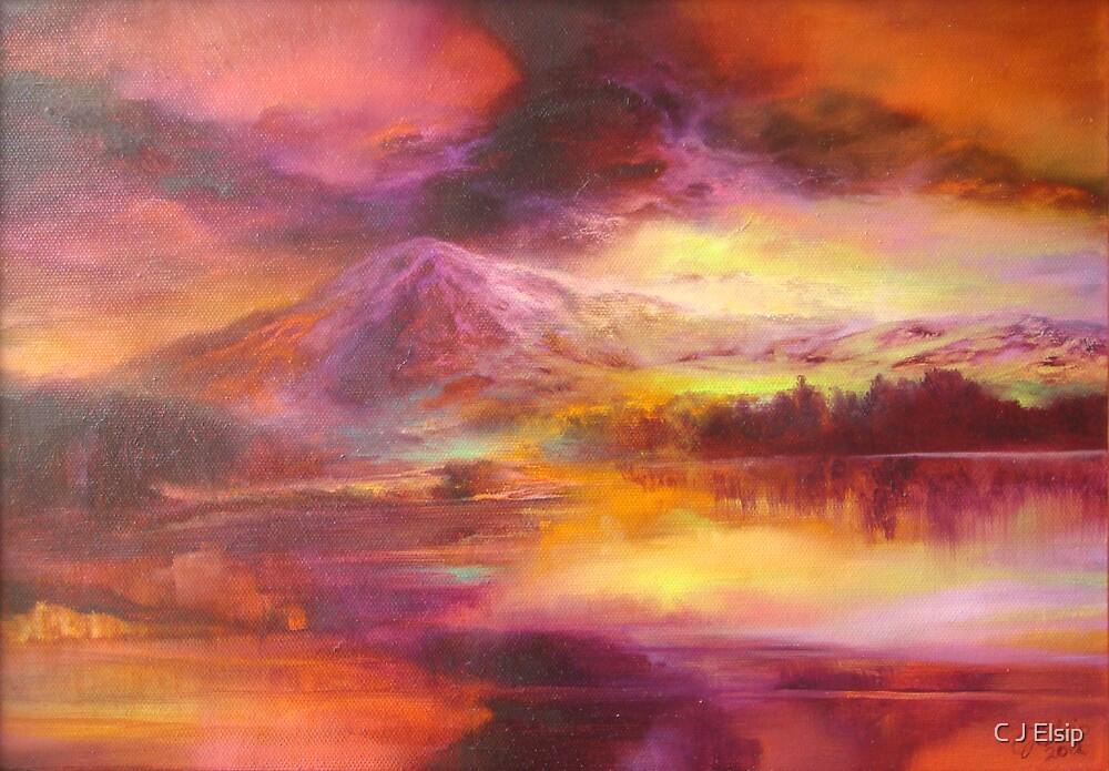 Cascadian Storm by C J  Elsip
