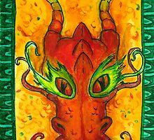 Smaug Mask by DrawingSaudade