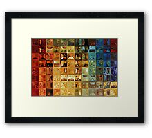 Modern Tile Art #22, 2008 Framed Print