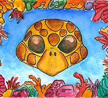 Turtle Mask by DrawingSaudade