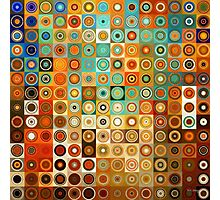 Circles and Squares 1. Modern Geometric Art Photographic Print