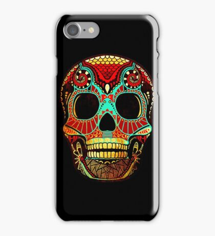 Grunge Skull No.2 iPhone Case/Skin
