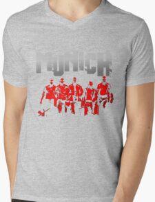 The Cast of Munich Mens V-Neck T-Shirt