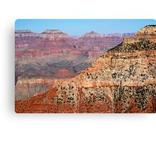 Grand Canyon Ridge and O'Neill Butte Canvas Print