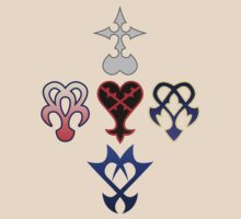 Kingdom Hearts Logos by CalvertSheik