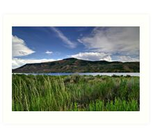 Blue Mesa Reservoir Art Print