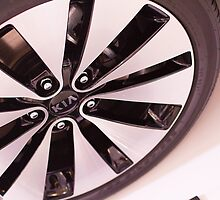 Kia Optima Wheel [ Print & iPad / iPod / iPhone Case ] by Mauricio Santana