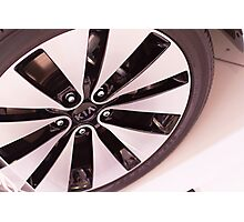 Kia Optima Wheel [ Print & iPad / iPod / iPhone Case ] Photographic Print