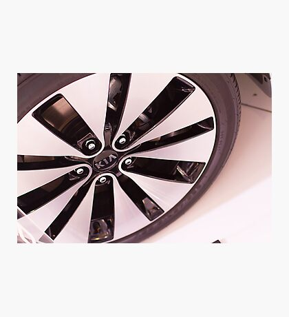 Kia Optima Wheel [ Print & iPad / iPod / iPhone Case ] Photographic Print