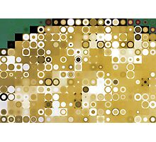 Circles and Squares 9. Modern Geometric Art Photographic Print