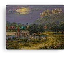Varsana. Abode of Radharani Canvas Print