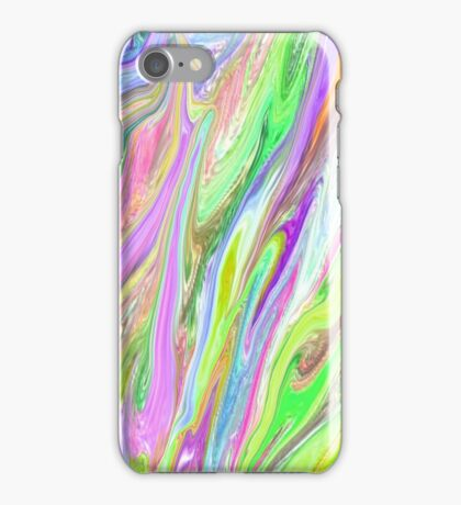 Abstract Neon Color  iPhone Case/Skin
