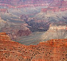 Grand Canyon Crimson Ridge by Michael Kirsh
