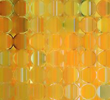 Circles and Squares 19. Modern Geometric Art by Mark Lawrence
