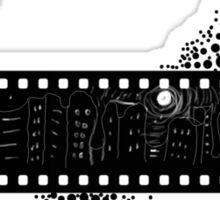 Black and White City Sticker